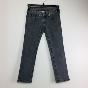 True Religion Gray Jeans